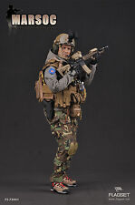 "Flagset 12"" 1/6 Scale US Marine MARSOC USMC Special Operations Command Figure"