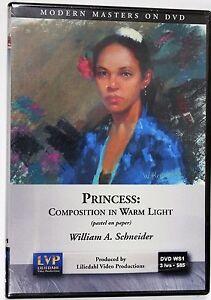 William Schneider: Princess - Pastel - Art Instruction DVD