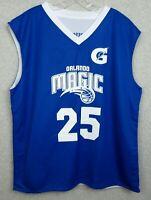 New Orlando Magic 2XL Reversal Basketball Jersey Reversible Number 25