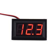 DC Voltmeter Amperemeter Digital- Volt Meterspur Batterie Ladeanzeige Prüfgerät