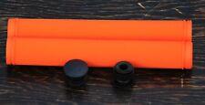 Orange Velo Track Bike GRIPS Drop Handlebars Fixed Gear Fixie Bicycle Bullhorn