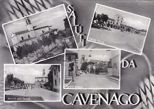 CARTOLINA LOMBARDIA MILANO- CAVENAGO, 4 VEDUTINE - V1961