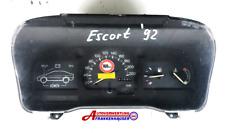 Ford Escort V 1992 Tacho Kombiinstrument 91AB10848AD  91AB10841AC
