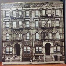 LED ZEPPELIN - PHYSICAL GRAFFITI LP RECORD VG VG VINYLS 1975 SS2 200 + Insert