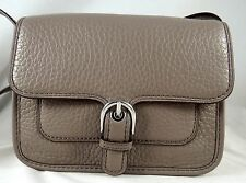 Michael Michael Kors Cooper Cinder Pebbled Leather Small Crossbody Bag