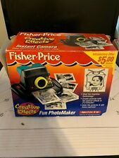 Rare Fisher Price Creative Effects Fun Photomaker Instant Camera COLLETORS