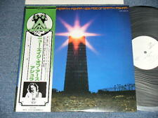 ASHRA Japan 1978 White Label PROMO NM LP+Obi NEW AGE OF EARTH