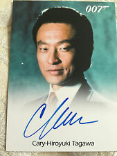 James Bond Classics 2016 Autograph Card Full Bleed Cary-Hiroyuki Tagawa