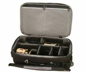 GPS Reel Case MEDIUM Freshwater Saltwater Fishing Gear Storage Travel Bag BLK
