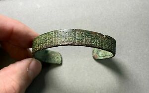 Bracelet 14-17 century, Finno-Ugric, jewelry, ancient artifact, 100% authentic.