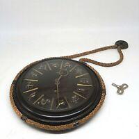 60er Jahre Kienzle Sternzeichen Uhr mechanisch Kordeluhr läuft seltenes Modell