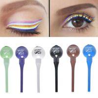 6colors sucette liquide eyeliner crayon séchage rapide maquillage cosmétique