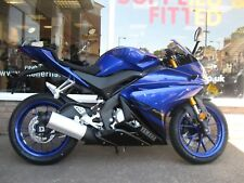 YAMAHA YZF-R125 ABS  YZF-R 125  2018 '18' PLATE BRAND NEW MOTORCYCLE