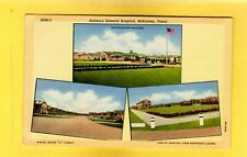 "McKinney,TX Texas, Ashburn General Hospital, 3 views, ""C"" Street,Hospital,Hqrts"