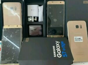 Brand New Boxed Samsung Galaxy S7 edge SM-G935F Gold Platinum Unlocked Warranty