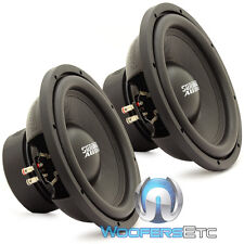 "(2) SUNDOWN AUDIO E-12 V3 D4 12"" 500W RMS DUAL 4-OHM CAR SUBWOOFERS SPEAKERS NEW"