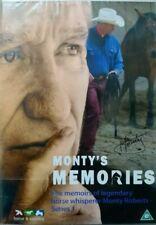 MONTY'S MEMORIES NEW DVD MEMOIRS OF MONTY ROBERTS LEGENDARY HORSE WHISPERER