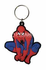 Spiderman (crouch) PVC flexible keyring    (py)