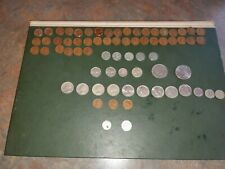 Us coins 78 in total some rare tokens and mint errors 43 steel penny