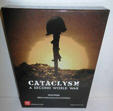 Boxed WAR GAME Cataclysm 1933-1950 A Second World War Global Scale 2018 GMT