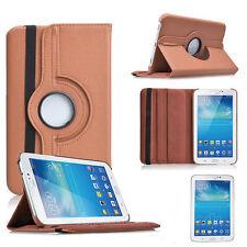 """Samsung Galaxy Tab 2 P3100 7"""" 360° CASE COVER SCHUTZ HÜLLE ETUI TASCHE BRAUN"""