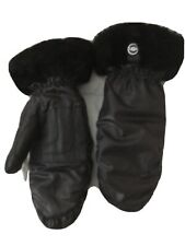 UGG black, nylon mittens size L,XL