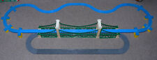 TOMY Trackmaster Thomas (Blue) Train & Road TRACK set + Bridge and ramps (REF 5)