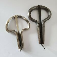 Lot of 2 Mouth Harps Jews/Jaw/Ozark Organ Harp 1-Marked England 2-Unmarked