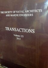 The Society of Naval Architects and Marine Engineers Transaction Volume 121 2013