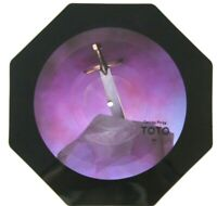 EX/EX Toto Georgy Porgy Shaped Vinyl Picture Pic Disc