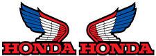 1985 Honda ATC 200X Gas Tank Wing Decals Vintage Motocross