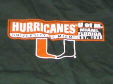 University of Miami HURRICANEs starter T shirt medium
