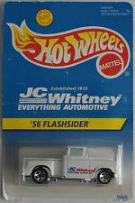 """Hot Wheels - ´56 / 1956 Chevy Flashsider Pickup weiß """"JC Whitney"""" Neu/OVP"""