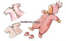 Vintage Mccall's Toddler Sewing Pattern 1940s Jumpsuit Jacket Bonnet Size 2 Copy
