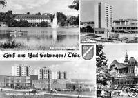 AK, Bad Salzungen, vier Abb., u.a. Neubaugebiet, 1972