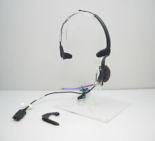 Plantronics H171 DuoPro Black Headband Voice Tube Headset in Bulk Package TESTED