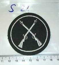 Schützen Armabzeichen Obergefreitenwinkel golden 1 Stück e413