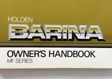 Holden Car & Truck Owner & Operator Manuals