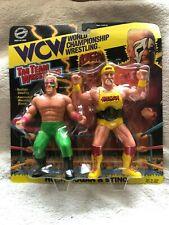 THE ORIGINAL SAN FRANCISCO TOYMAKERS WCW TAG TEAM 2-PK HULK HOGAN & STING M/NM-