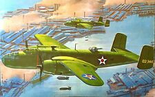 REVELL Kit.No. H-285, North American B-25B, 1/48, 100% Complete, 1968