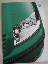 VW Sharan range brochure May 2000
