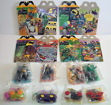 Batman The Animated Series McDonald's Happy Meal Action Figures & Boxes 1993