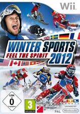 Nintendo Wii +Wii U Winter Sports 2012 Feel the Spirit Wintersports Neuwertig