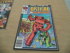 Spitfire and the Troubleshooters #3 (Dec 1986, Marvel)