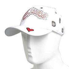 Chapeaux casquettes de base-ball blancs pour femme