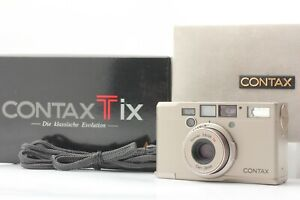 【 Mint in Box 】 Contax T IX APS Point & Shoot Film Camera Silver from Japan #432