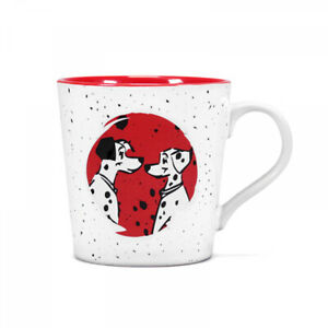 OFFICIAL 101 DALMATIANS DISNEY TAPERED COFFEE MUG CUP NEW IN GIFT BOX