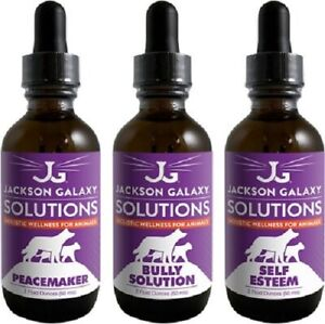 Jackson Galaxy  Solutions-ULTIMATE PEACEMAKER!  3-2 oz Bottles