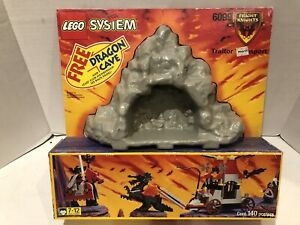 Lego Set 6099 Castle System Fright Knights Traitor Transport Sealed Free Cave