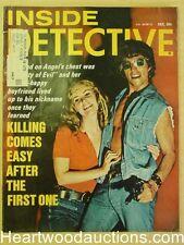 """Inside Detective"" December 1971 Hippie Cover"